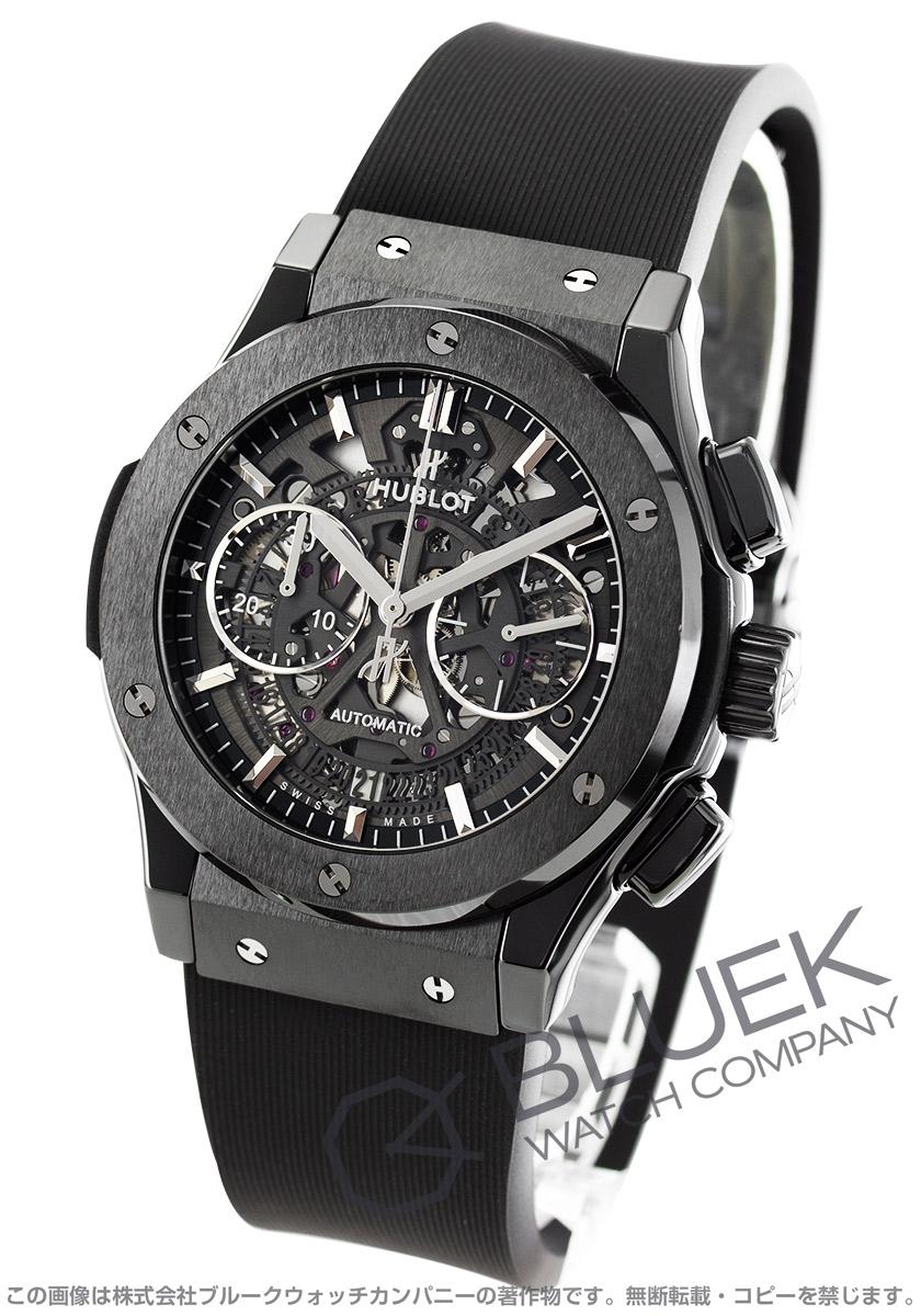 ウブロ クラシック フュージョン アエロ フュージョン ブラックマジック クロノグラフ 腕時計 メンズ HUBLOT 525.CM.0170.RX