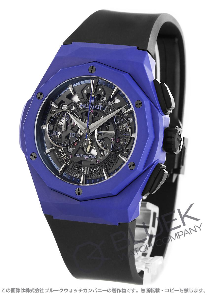 ウブロ クラシック フュージョン アエロ フュージョン オーリンスキー ブルーセラミック 世界限定200本 クロノグラフ 腕時計 メンズ HUBLOT 525.EX.0179.RX.ORL18