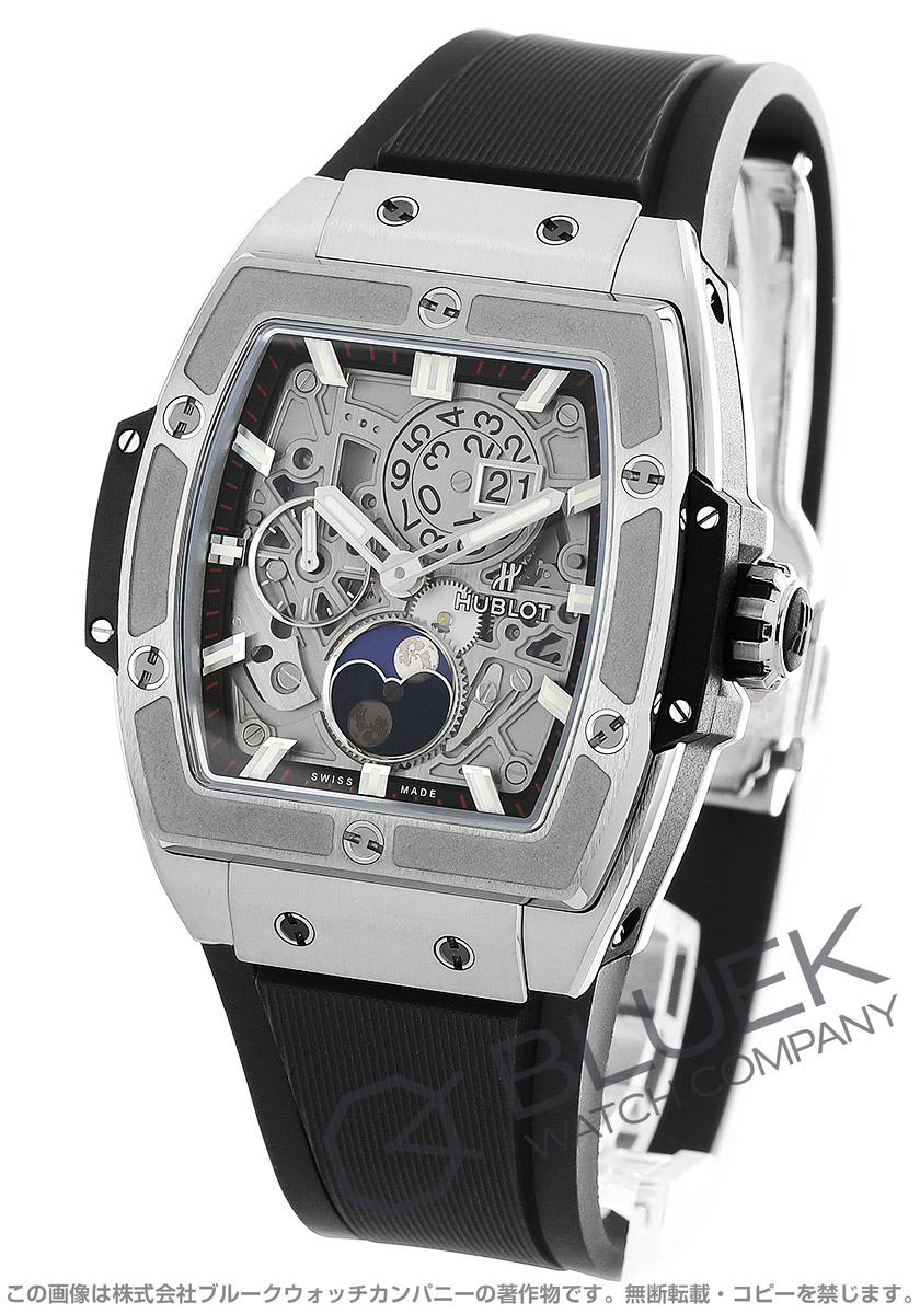 ウブロ スピリット オブ ビッグバン チタニウム ムーンフェイズ 腕時計 メンズ HUBLOT 647.NX.1137.RX
