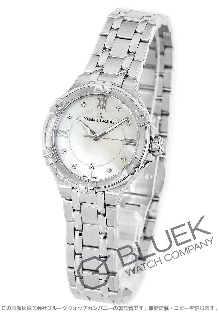 モーリス・ラクロア アイコン デイト ダイヤ 腕時計 レディース MAURICE LACROIX AI1004-SS002-170-1