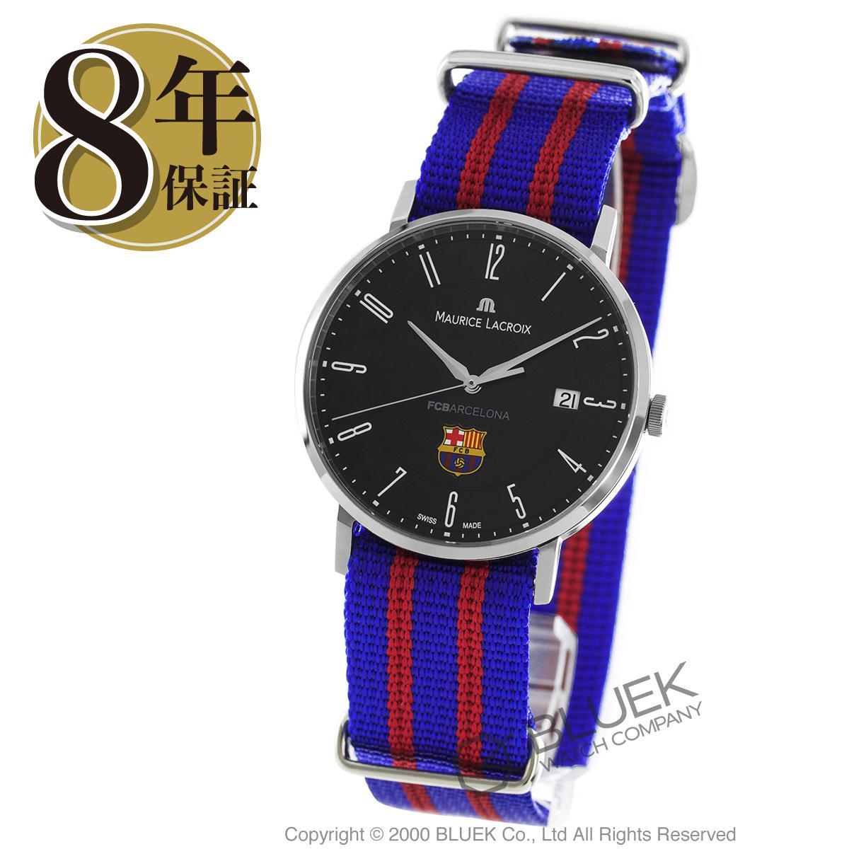 モーリス・ラクロア エリロス FCバルセロナ 替えベルト付き 腕時計 メンズ MAURICE LACROIX EL1087-SS002-320_8