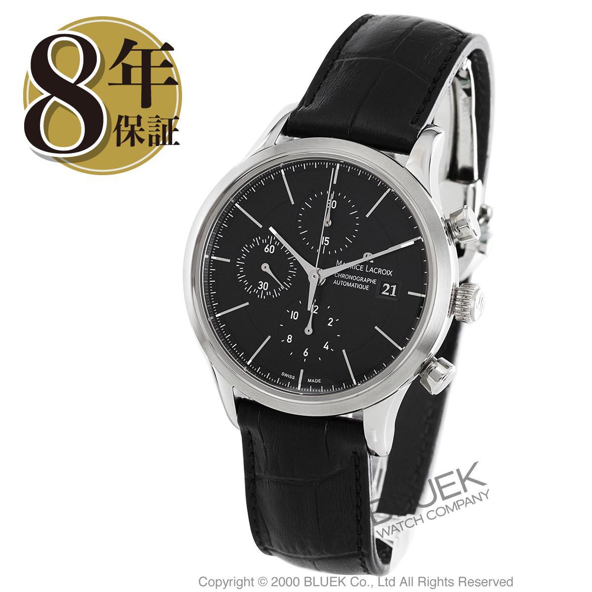 【最大3万円割引クーポン 11/01~】モーリス・ラクロア レ・クラシック クロノグラフ 腕時計 メンズ MAURICE LACROIX LC6058-SS001-330_8