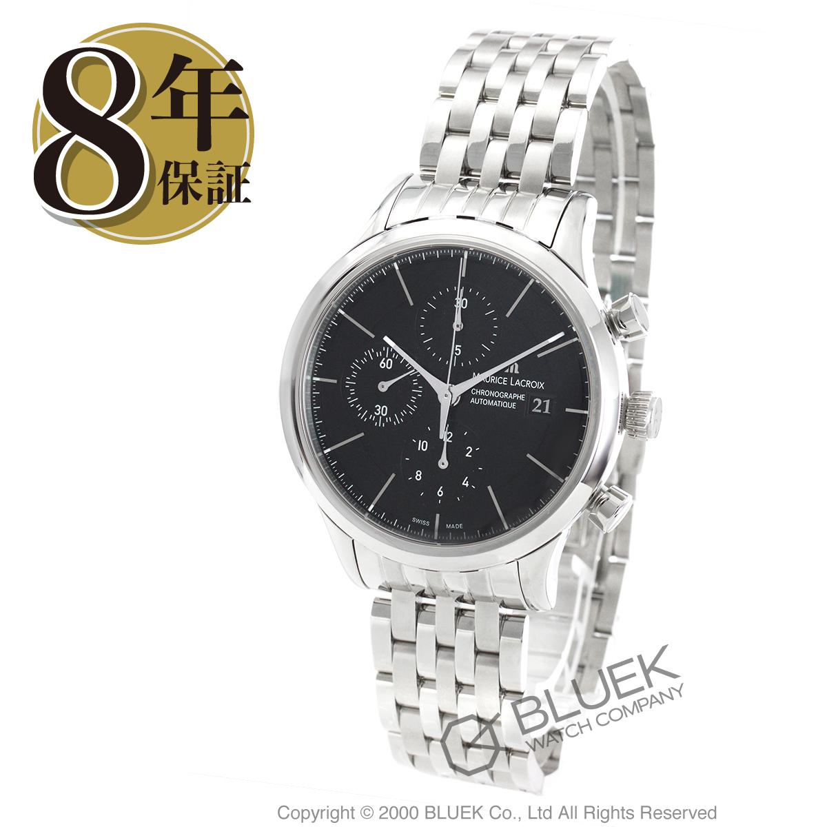 モーリス・ラクロア レ・クラシック クロノグラフ 腕時計 メンズ MAURICE LACROIX LC6058-SS002-330J_8