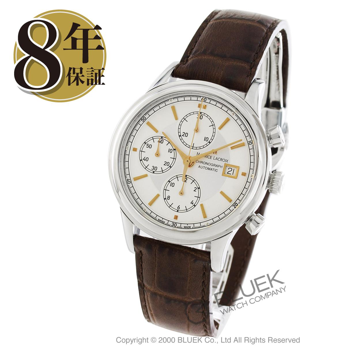 モーリス・ラクロア レ・クラシック クロノグラフ 腕時計 メンズ MAURICE LACROIX LC6158-SS001-130_8