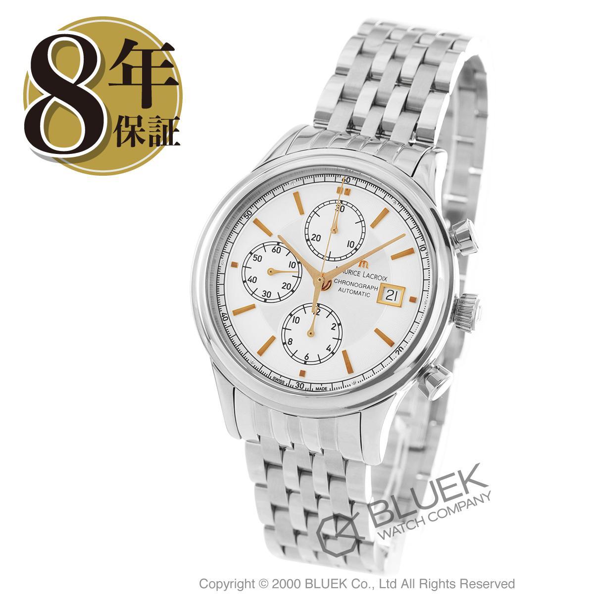 【最大3万円割引クーポン 11/01~】モーリス・ラクロア レ・クラシック クロノグラフ 腕時計 メンズ MAURICE LACROIX LC6158-SS002-130_8