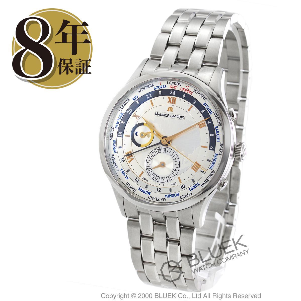 モーリス・ラクロア マスターピース トラディション ワールドタイマー GMT 腕時計 メンズ MAURICE LACROIX MP6008-SS002-110_8