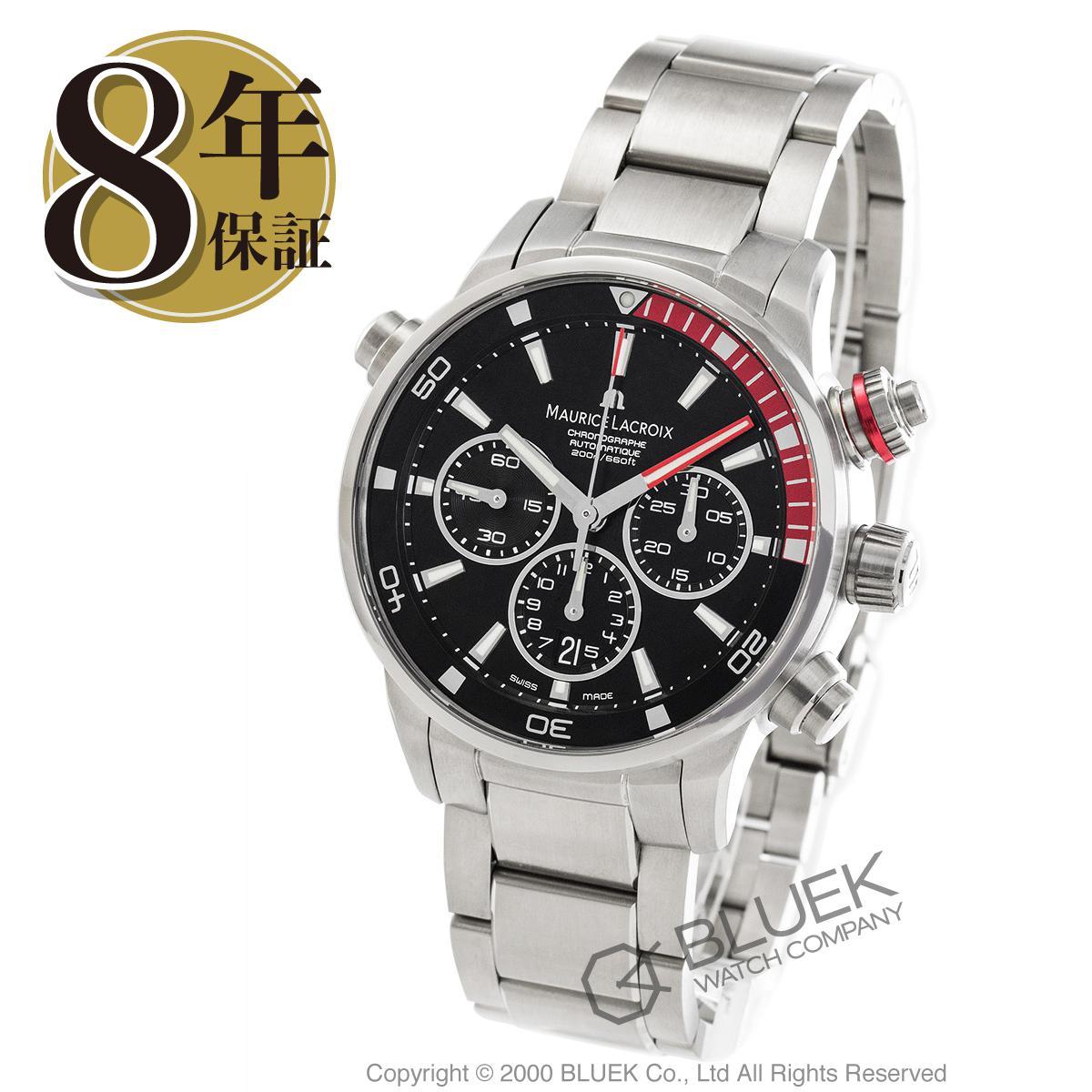 モーリス・ラクロア ポントスS クロノグラフ 替えベルト付き 腕時計 メンズ MAURICE LACROIX PT6018-SS002-330_8