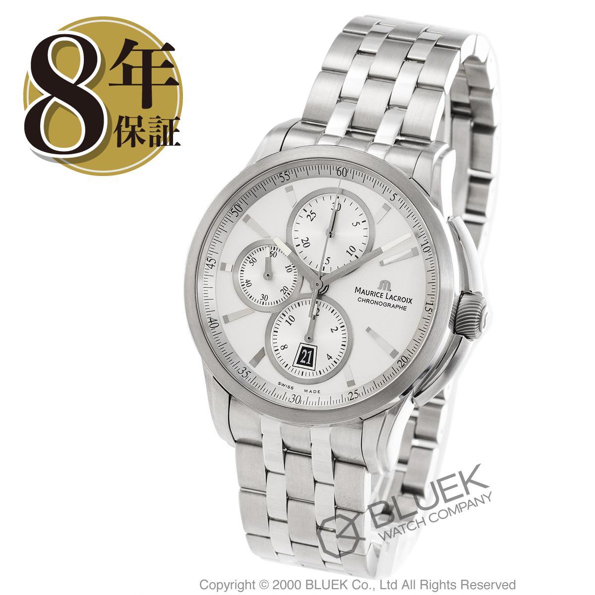 モーリス・ラクロア ポントス クロノグラフ 腕時計 メンズ MAURICE LACROIX PT6188-SS002-130_8