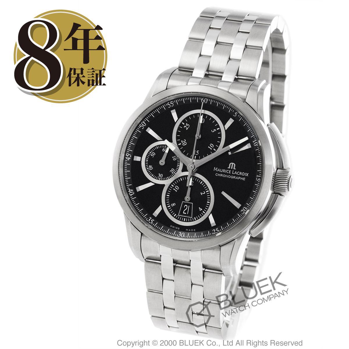 モーリス・ラクロア ポントス クロノグラフ 腕時計 メンズ MAURICE LACROIX PT6188-SS002-330_8