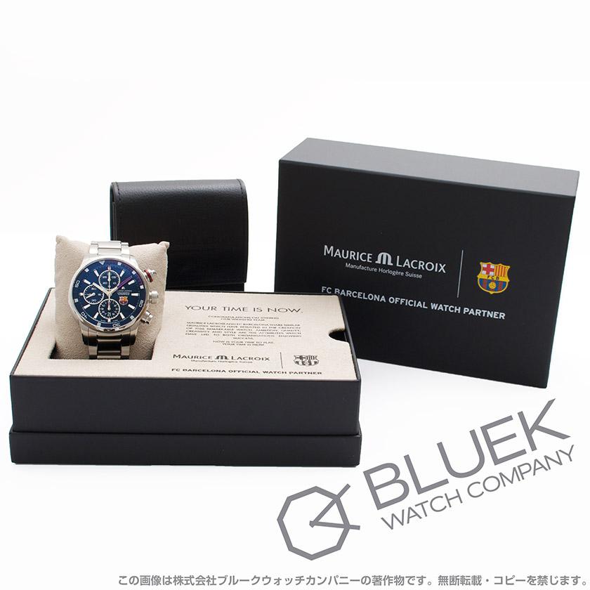 モーリス・ラクロア ポントスS FCバルセロナ クロノグラフ 替えベルト付き 腕時計 メンズ MAURICE LACROIX PT6008-SS002-431_8