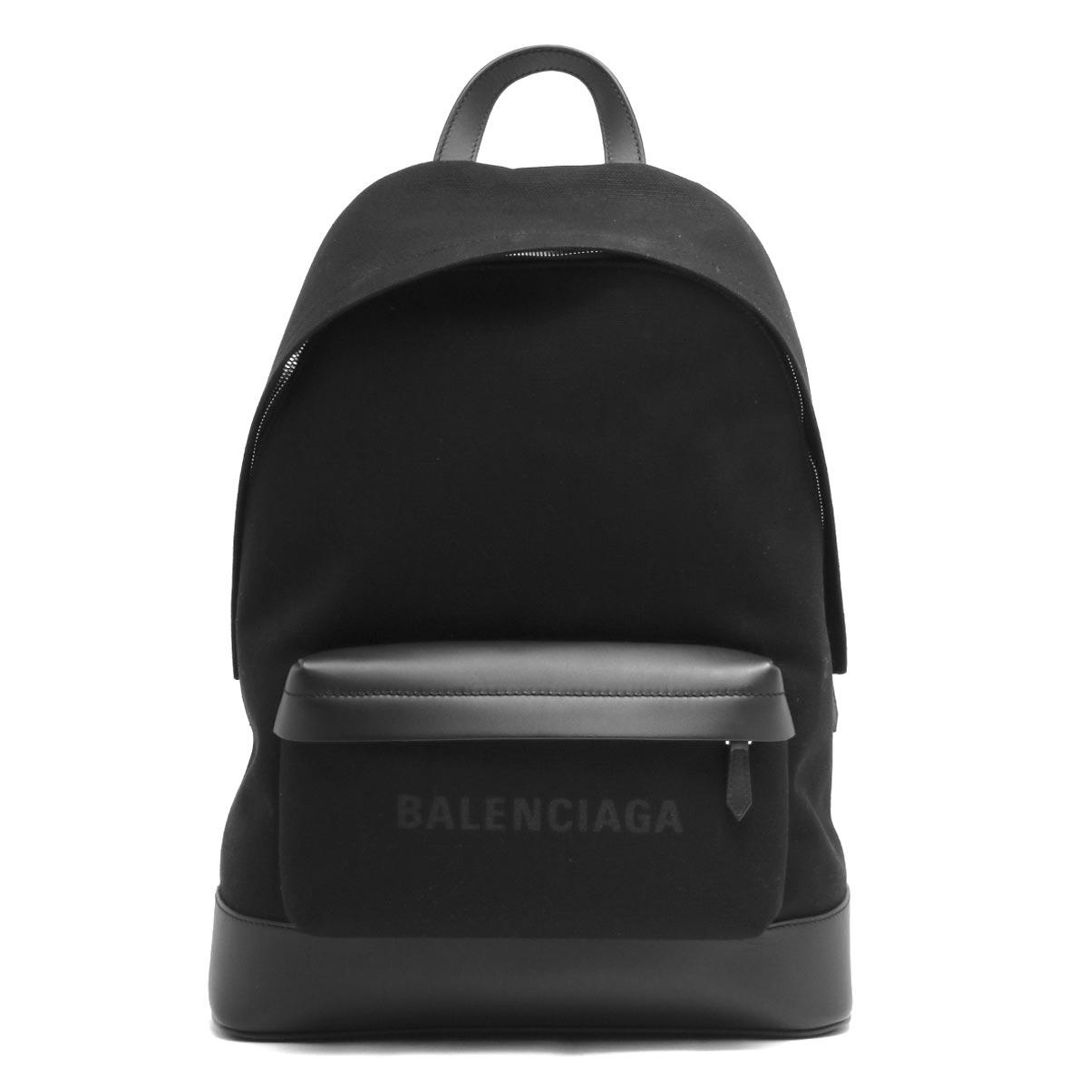 バレンシアガ リュックサック バッグ メンズ レディース ネイビー ブラック 392007 AQ3AN 1000 BALENCIAGA