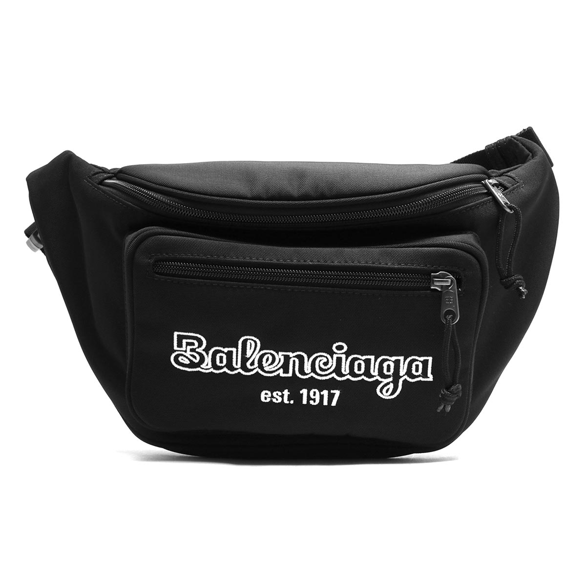 バレンシアガ ボディバッグ/ウエストバッグ/ベルトバッグ バッグ メンズ レディース エクスプローラー EST.1917 ブラック 482389 9TY2R 1000 2019年春夏新作 BALENCIAGA