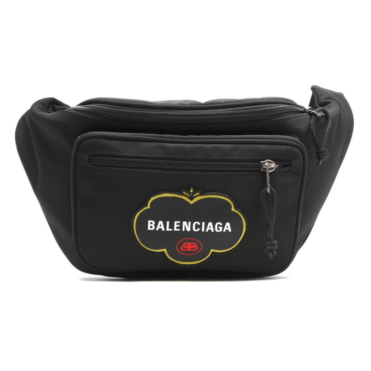 バレンシアガ ボディバッグ/ウエストバッグ/ベルトバッグ バッグ メンズ レディース エクスプローラー ブラック 482389 9WBF5 1000 BALENCIAGA
