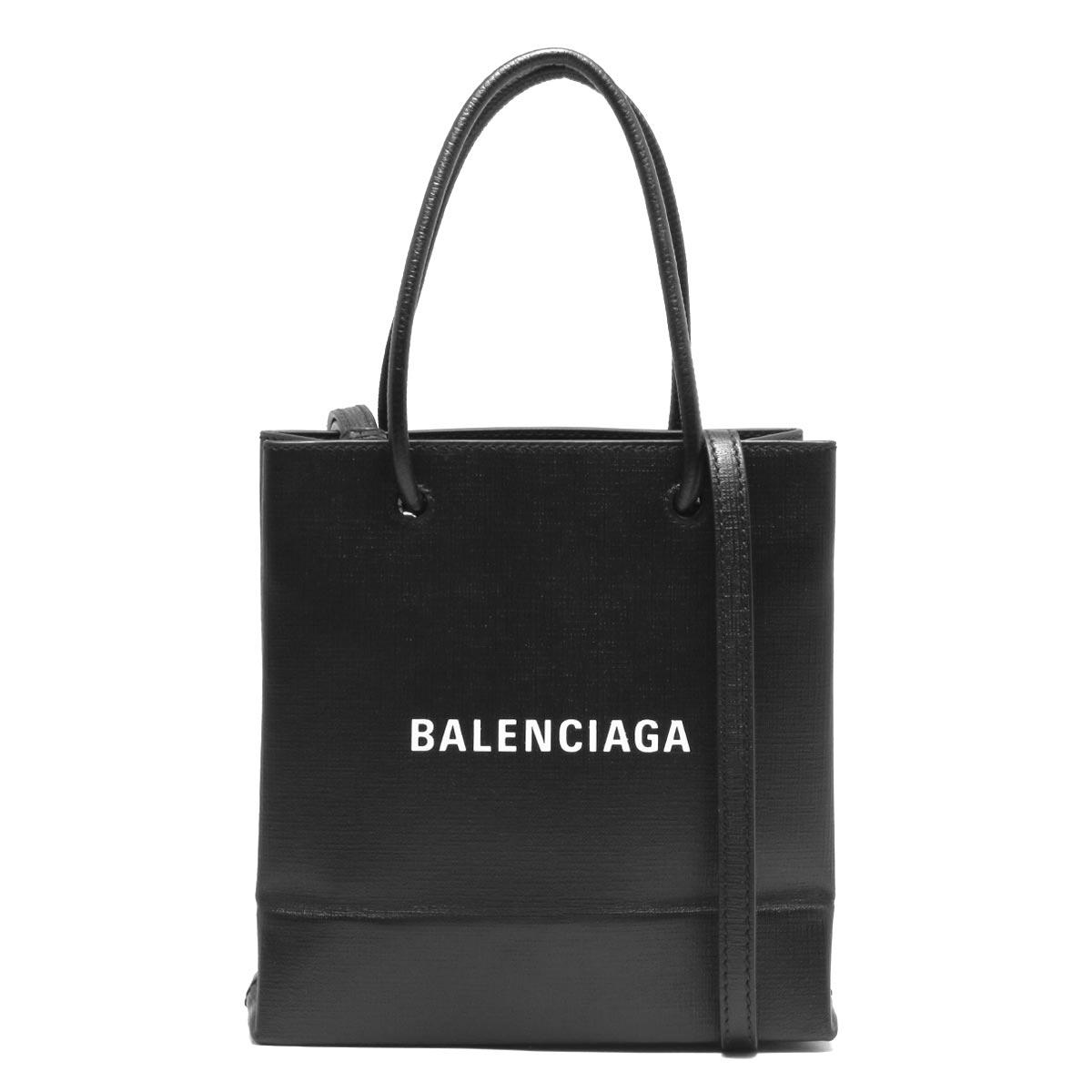 バレンシアガ ハンドバッグ/ショルダーバッグ バッグ レディース ショッピング XXS ブラック 572411 0AI2N 1000 2020年春夏新作 BALENCIAGA