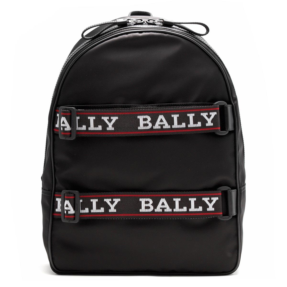 バリー リュックサック バッグ メンズ フィリップ ブラック FLIP 00 6221629 BALLY