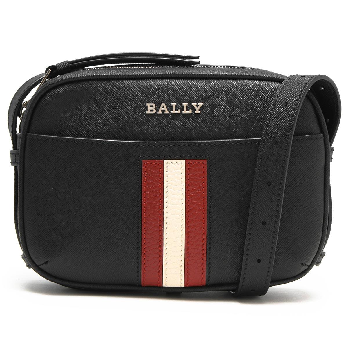 バリー ショルダーバッグ/ボディバッグ/クラッチバッグ バッグ レディース ジモ ブラック SYMO 00 6232545 BALLY