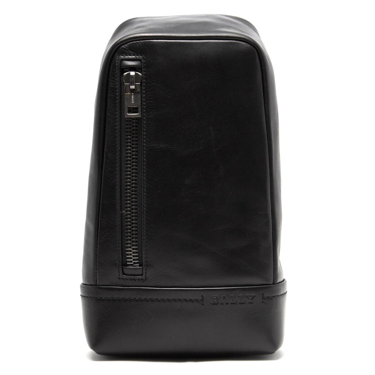 【最大3万円割引クーポン 11/01~】バリー ボディバッグ バッグ メンズ タニス TANIS ブラック TANIS 380 6214323 BALLY
