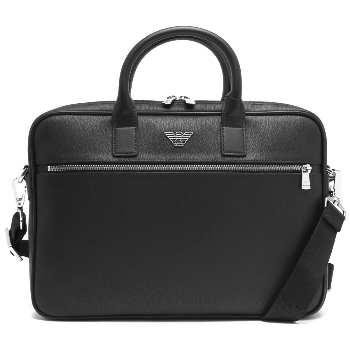 エンポリオアルマーニ ビジネスバッグ/ショルダーバッグ バッグ メンズ イーグルマーク ブラック Y4P119 YLA0E 81072 EMPORIO ARMANI