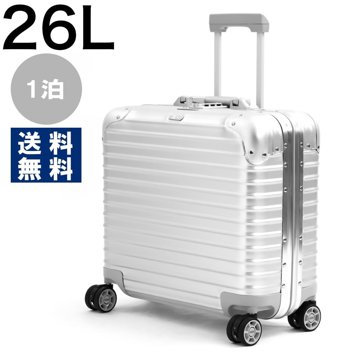 リモワ スーツケース/旅行用バッグ バッグ メンズ レディース トパーズ 26L 1泊 シルバー 923.40.00.4 RIMOWA