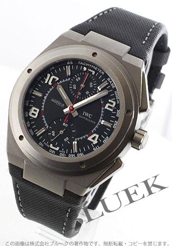 IWC Ingenieur men's IW372504 watch clock