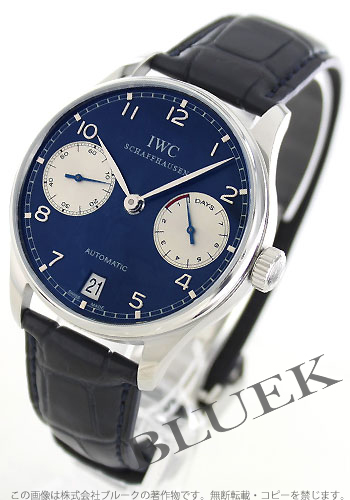 1,000 IWC ボルトギーゼ world limitation men's IW500112 watch clock