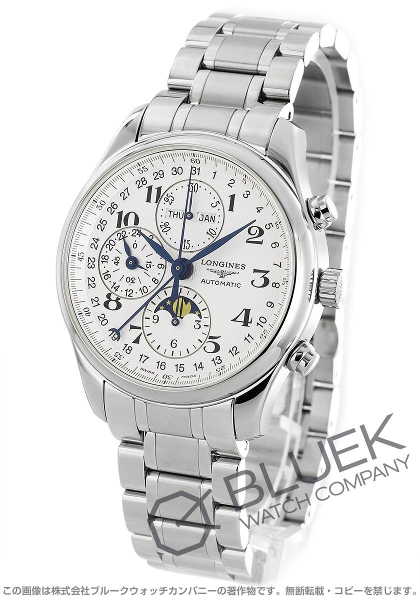 ロンジン マスターコレクション クロノグラフ ムーンフェイズ 腕時計 メンズ LONGINES L2.773.4.78.6