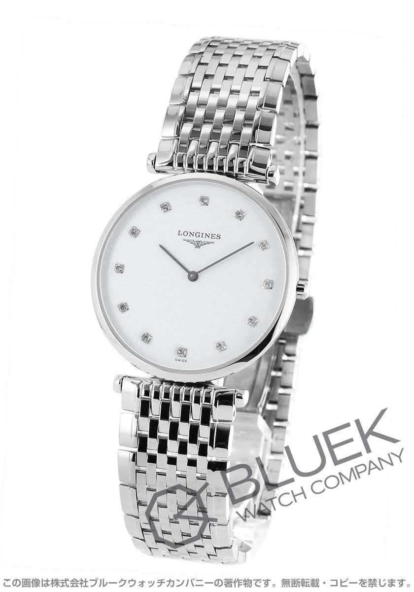 【3,000円OFFクーポン対象】ロンジン グランドクラシック ダイヤ 腕時計 メンズ LONGINES L4.709.4.17.6