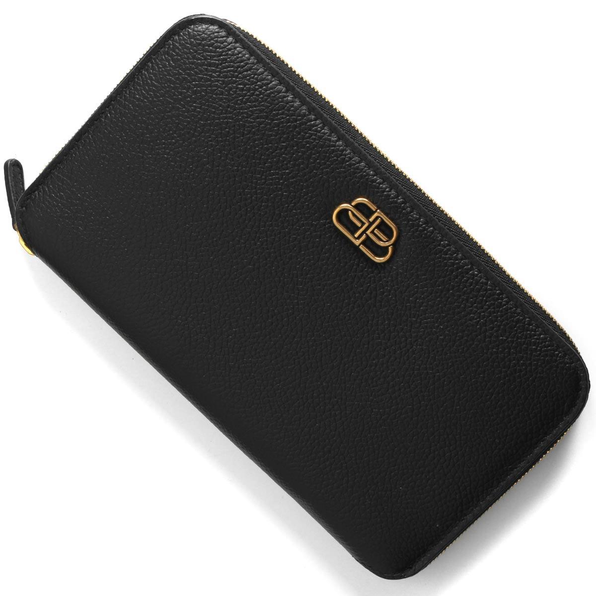 バレンシアガ 長財布 財布 メンズ レディース ビービー ブラック 601390 1IZ7M 1000 BALENCIAGA