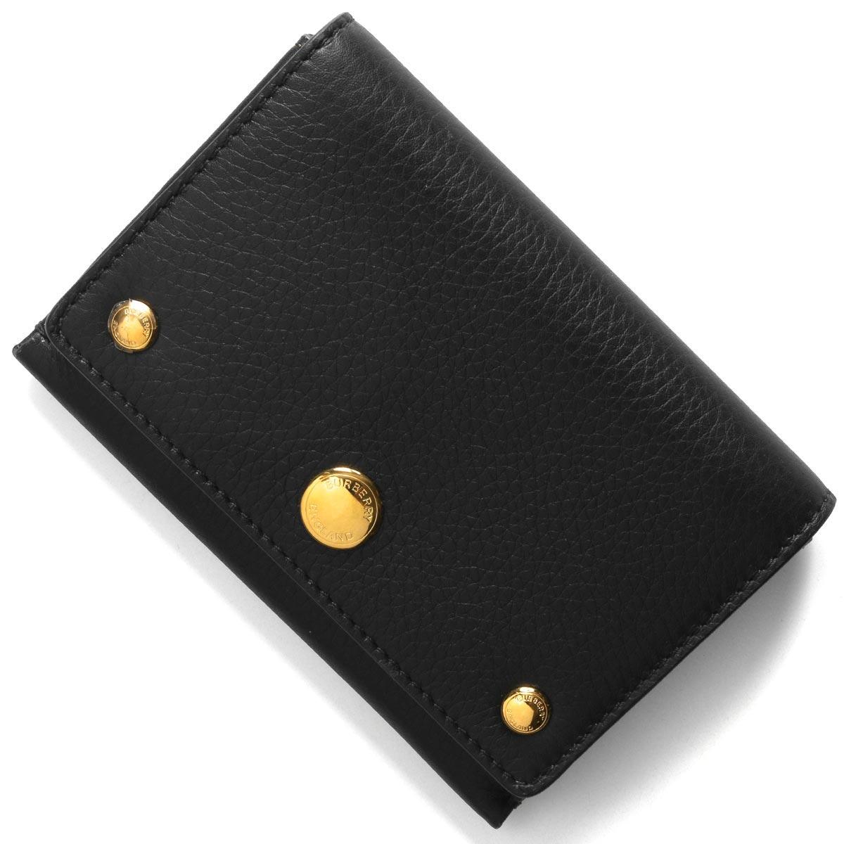 バーバリー 二つ折り財布/コインケース【小銭入れ】/カードケース 財布 メンズ レディース ジェイド ブラック 8011913 ACBGX A1189 BURBERRY