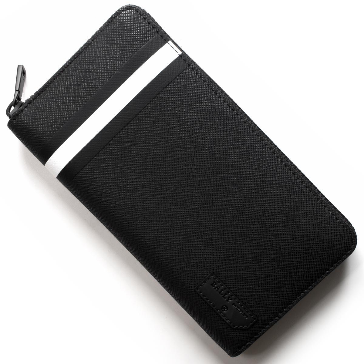 バリー 長財布 財布 メンズ バレン トラベル ブラック BALENOF 30 6224353 BALLY