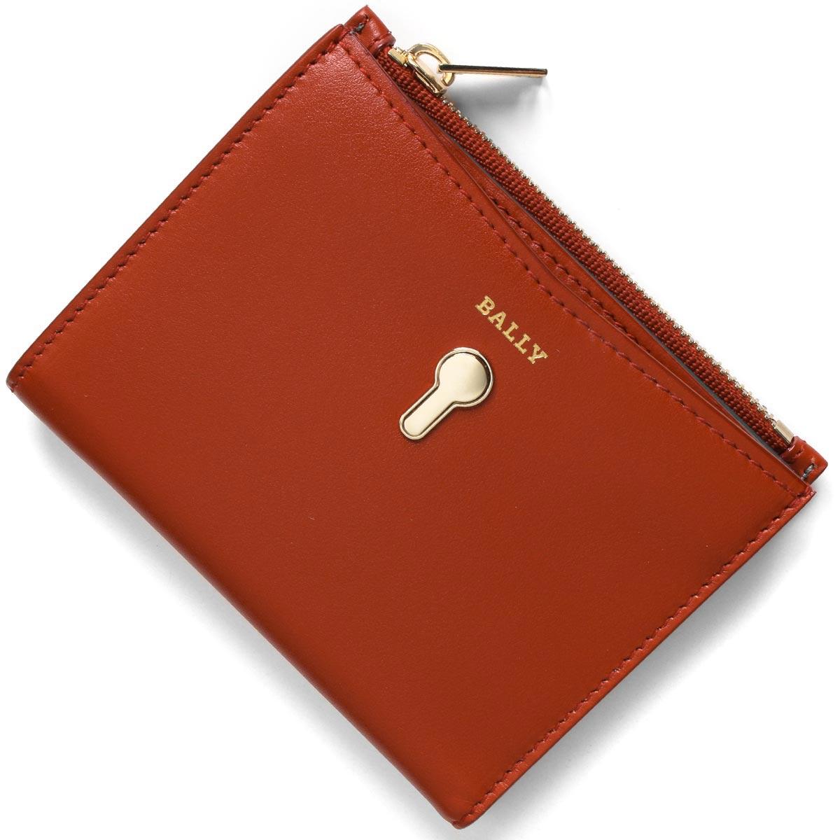 バリー 二つ折り財布 財布 レディース コーガン パパーヴェロレッド COGAN W 76 6226885 BALLY