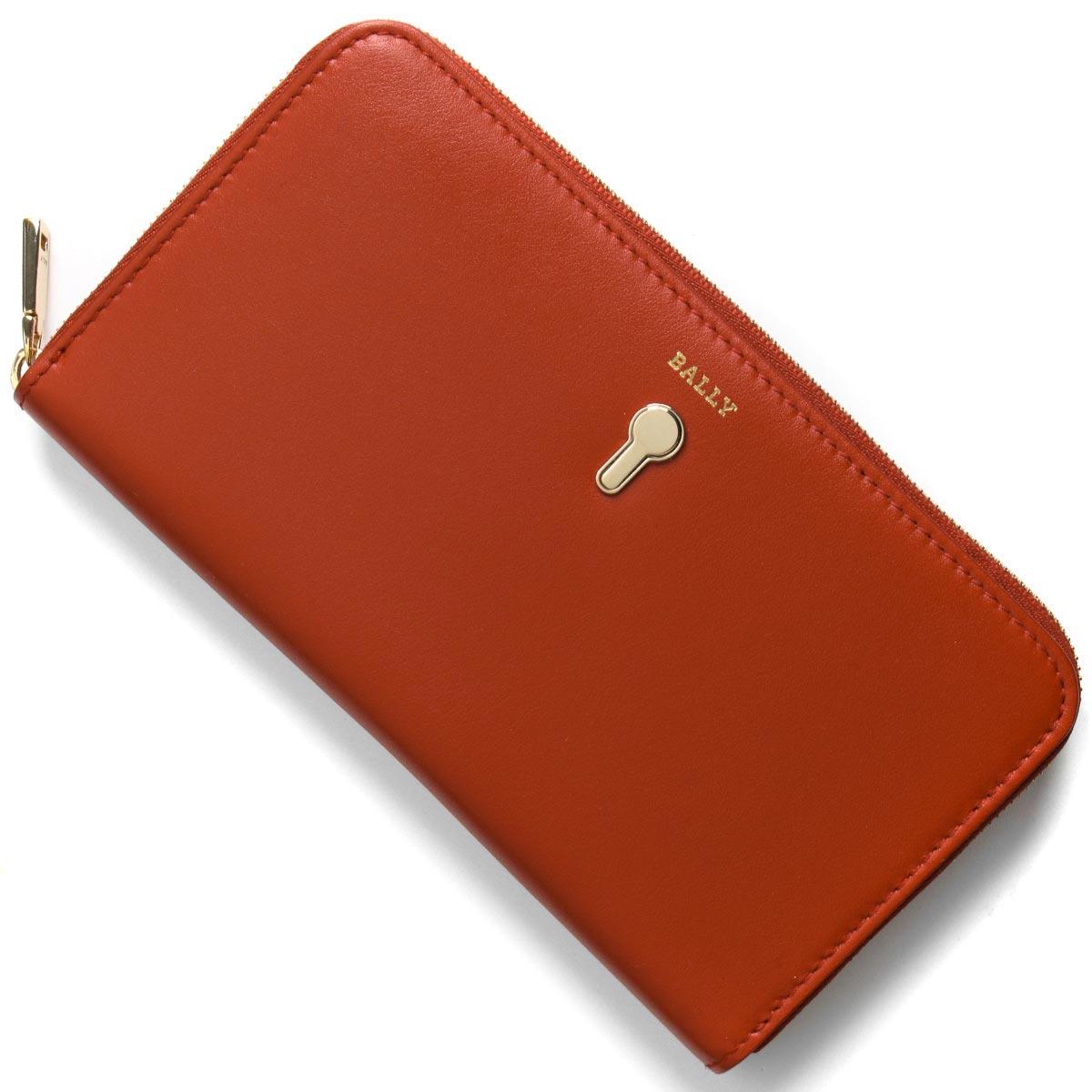 バリー 長財布 財布 レディース クロベナー パパーヴェロレッド CROVENOR W 76 6226906 BALLY