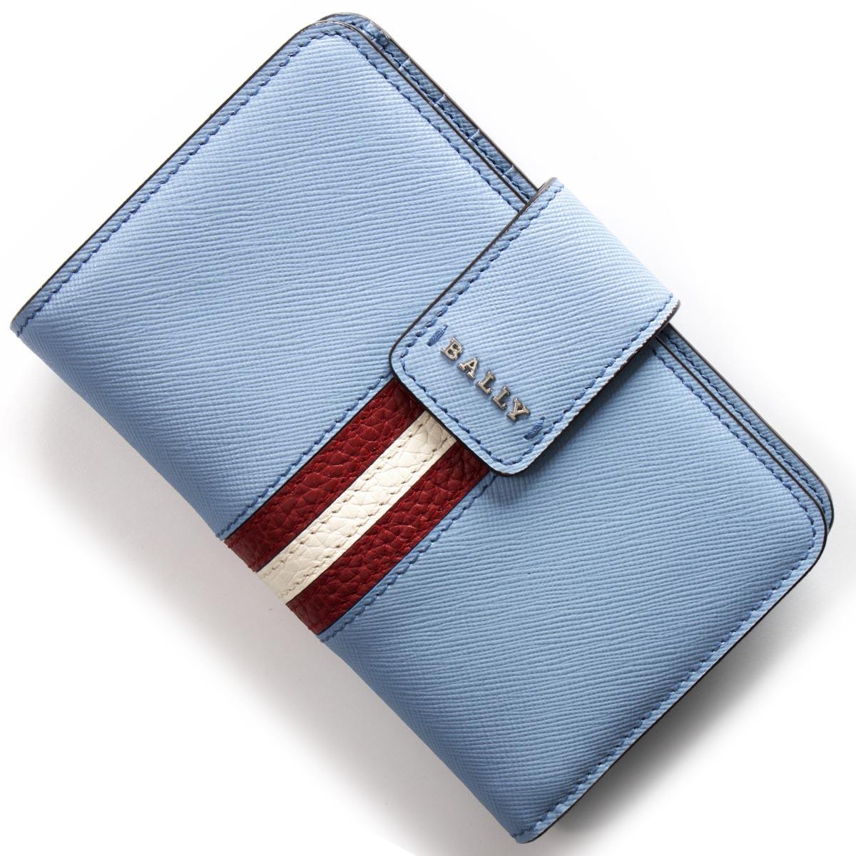 バリー 二つ折り財布 財布 レディース スエムブリッジ SEMBRIDGE オーシャンスプレーブルー SEMBRIDGES 87 6222433 2018年秋冬新作 BALLY