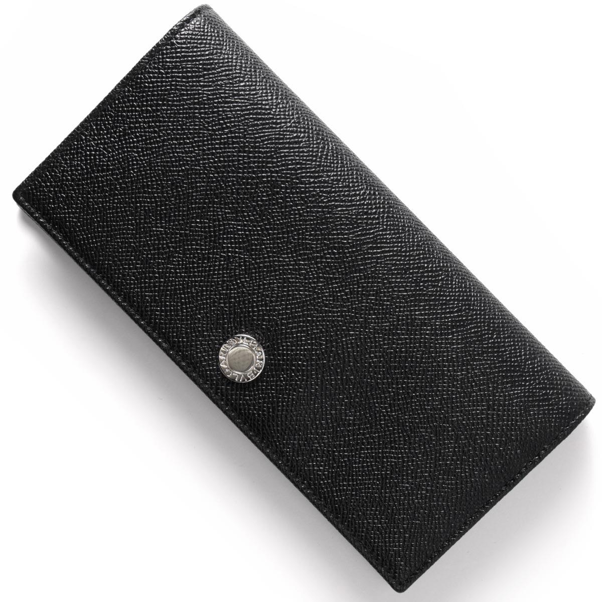 【1,000円OFFクーポン対象】ブルガリ 長財布 財布 メンズ クラシコ ブラック 27746 BVLGARI