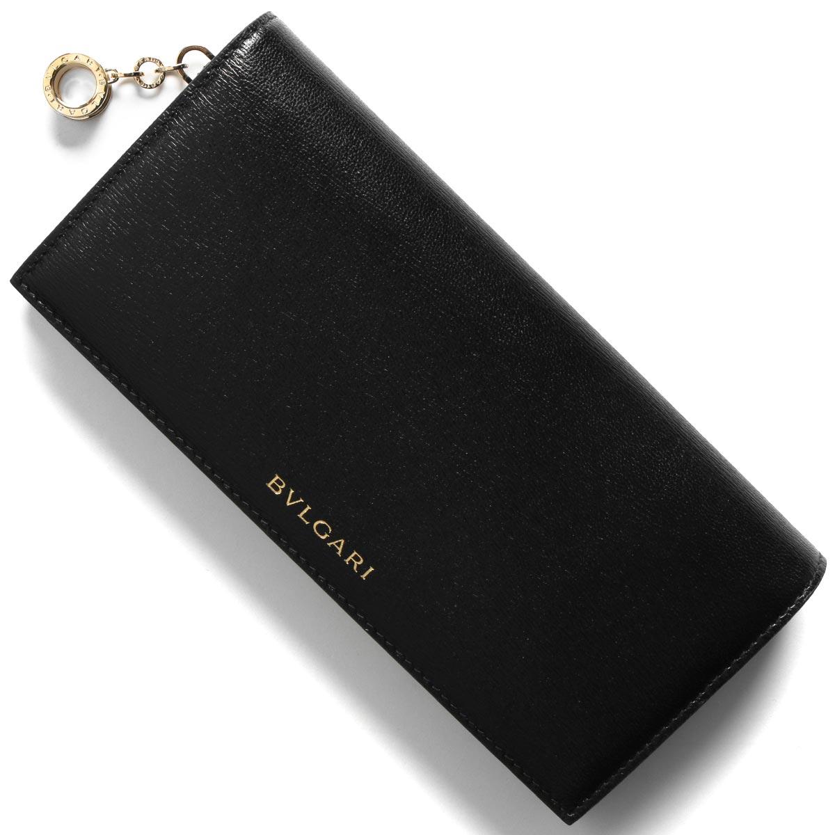 ブルガリ 長財布 財布 メンズ レディース ビー ゼロワン ブラック 288229 2020年春夏新作 BVLGARI