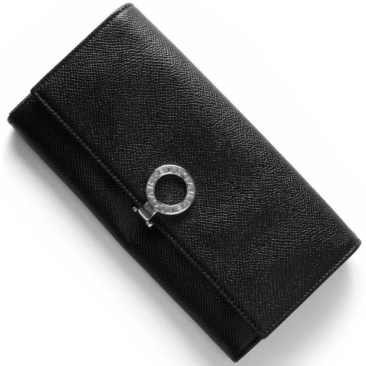 【1,000円OFFクーポン対象】ブルガリ 長財布 財布 メンズ レディース ブルガリブルガリ ブラック 30414 BVLGARI
