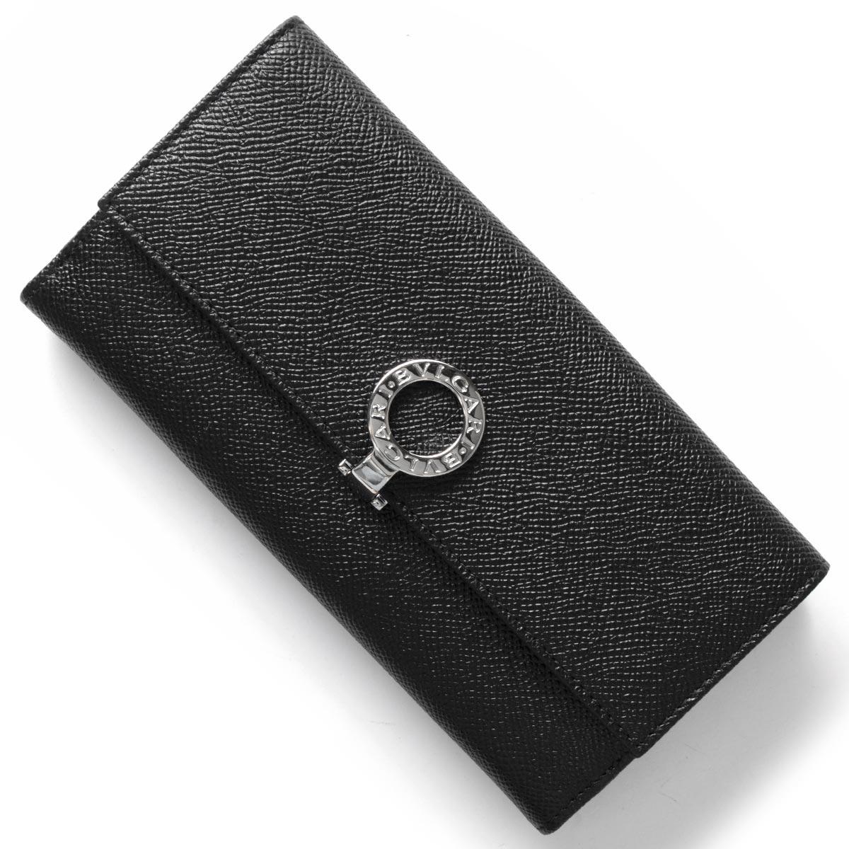 あす楽送料無料 ブルガリ 40%OFFの激安セール 長財布 財布 メンズ レディース ブラック BB BVLGARI 営業 ブルガリブルガリ 30416