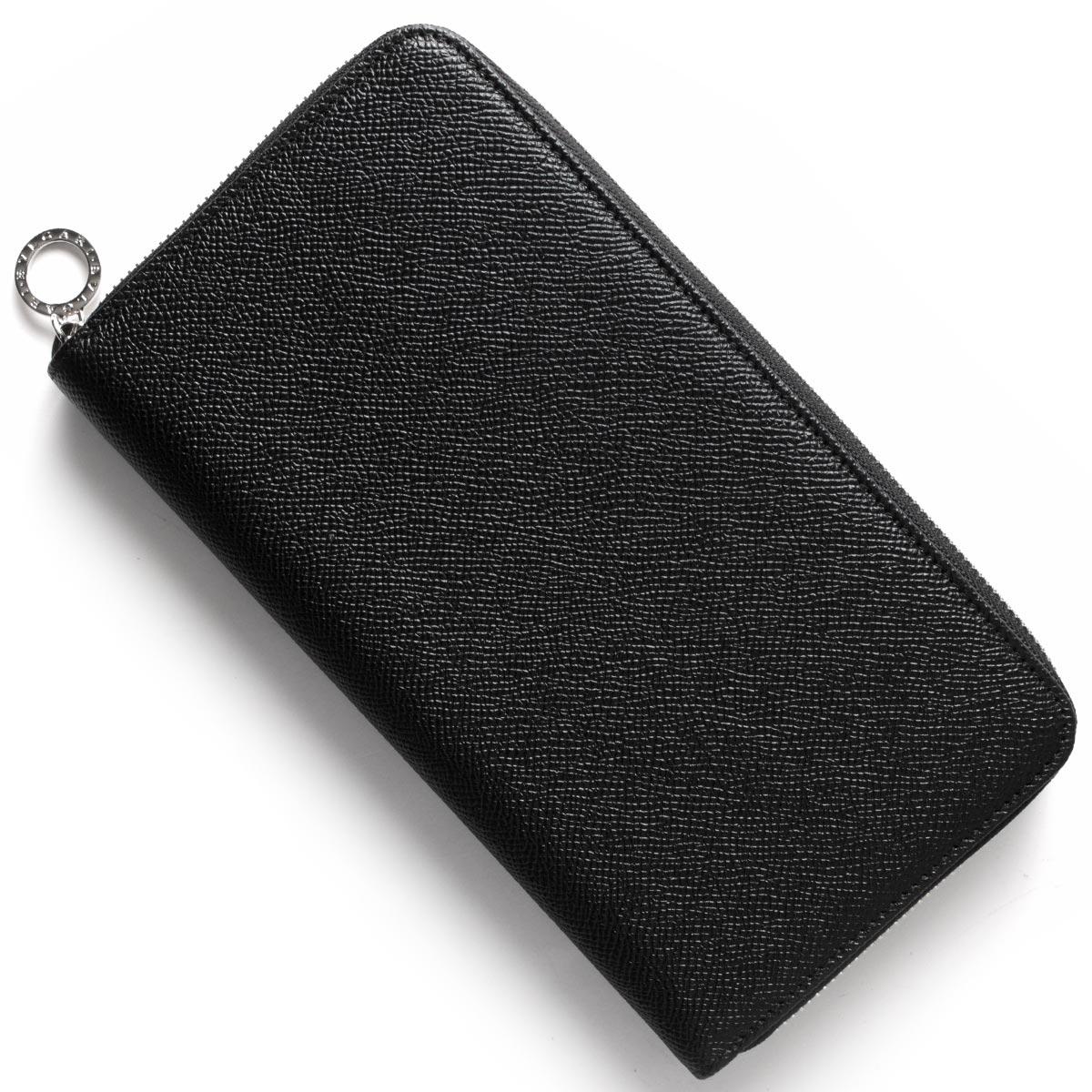 ブルガリ 長財布 財布 メンズ ブルガリブルガリ BB ブラック 36710 BVLGARI