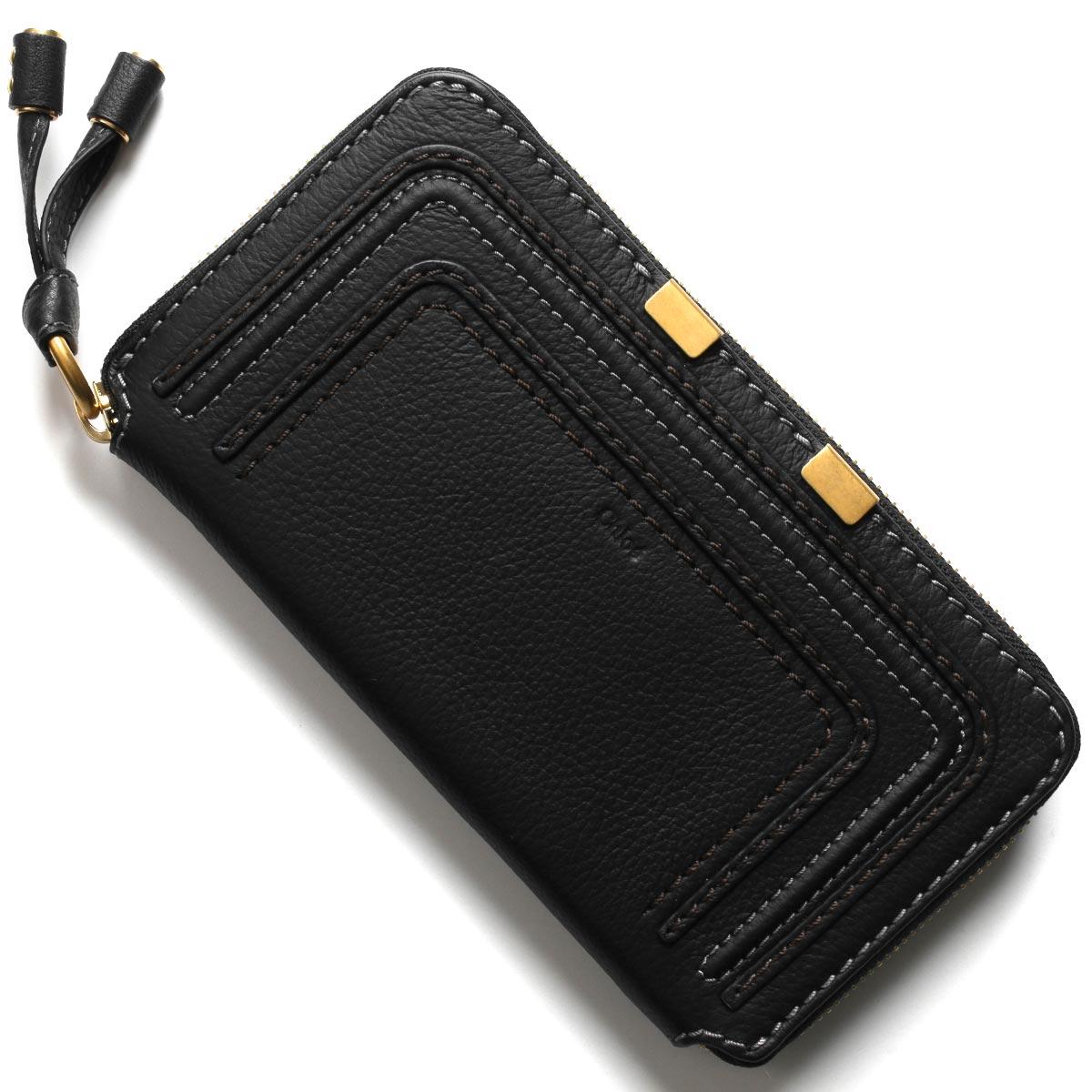クロエ 長財布 財布 レディース マーシー ブラック CHC10UP571 161 001 CHLOE