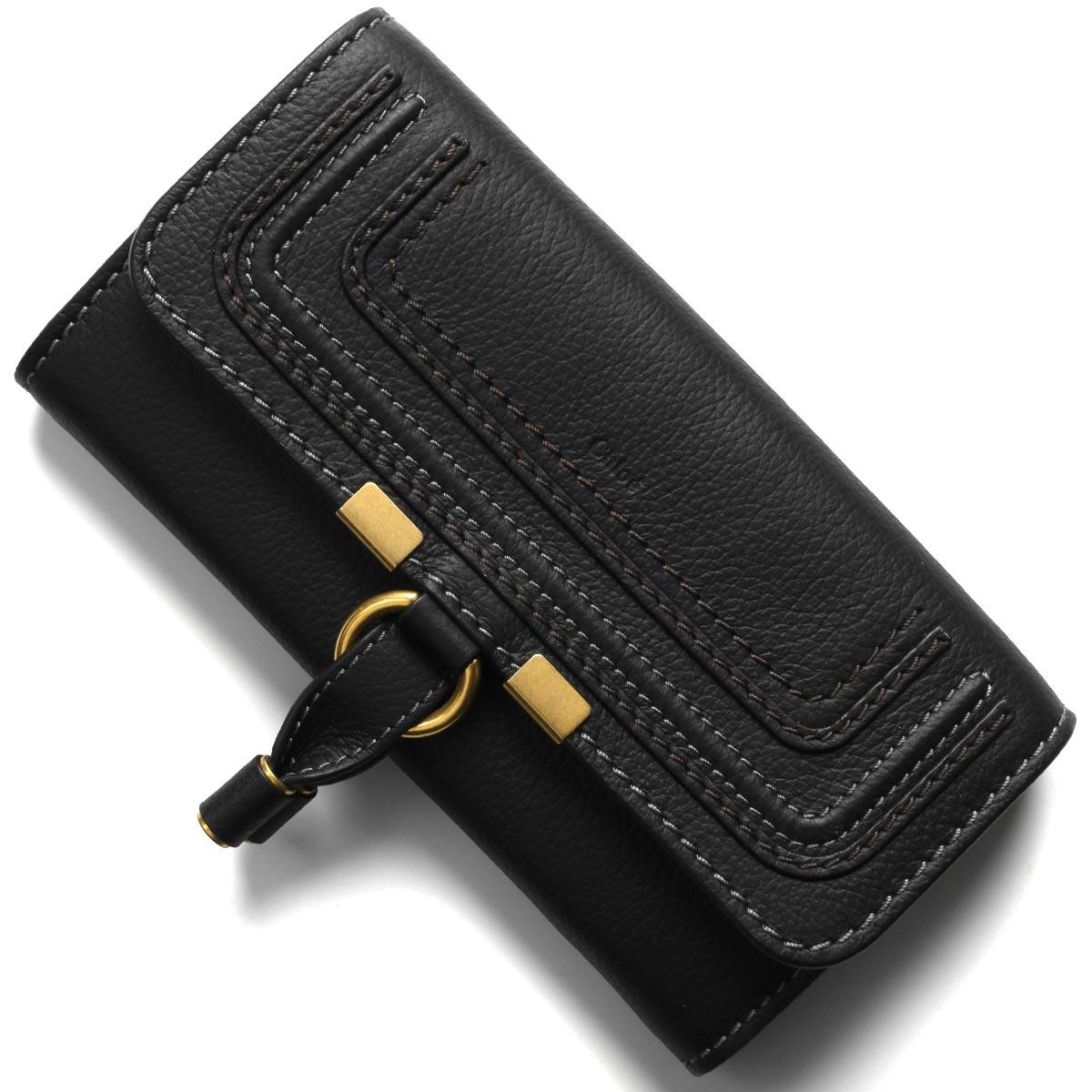 クロエ 長財布 財布 レディース マーシー ブラック CHC10UP573 161 001 CHLOE