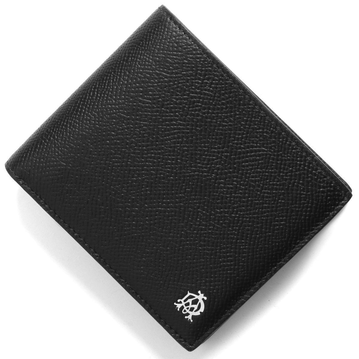 ダンヒル 二つ折り財布 財布 メンズ ブラック DU19F2C32CA 001 DUNHILL