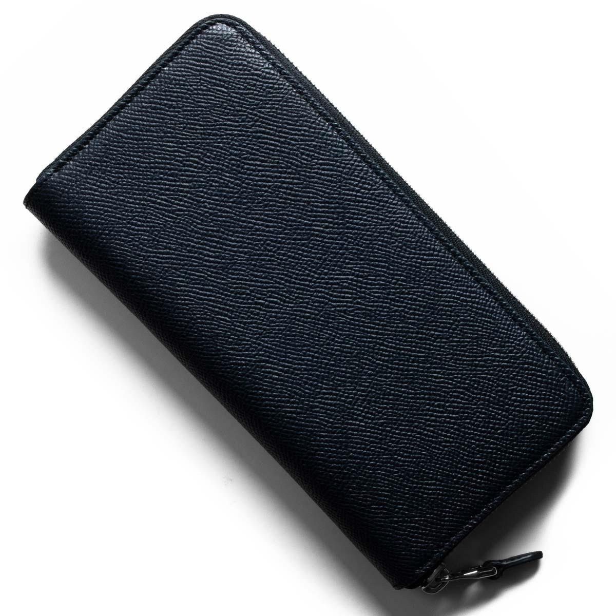 ダンヒル 長財布 財布 メンズ ボードン ネイビー L2W218 N DUNHILL