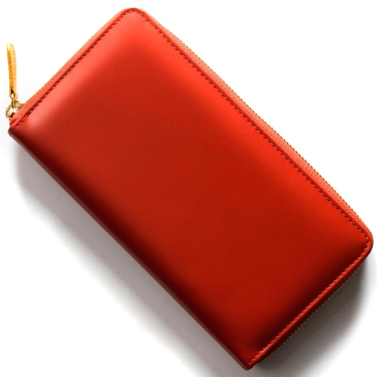エッティンガー 長財布 財布 メンズ ブライドル レッド&パネルハイドイエロー 2051EJR BH RED ETTINGER