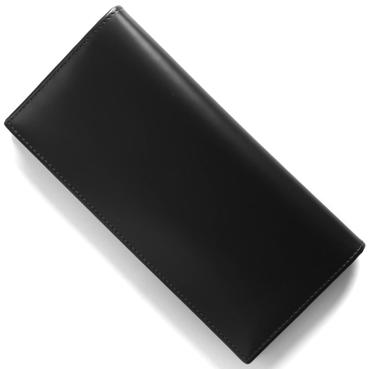 エッティンガー 長財布 財布 メンズ ブライドル ブラック&パネルハイドイエロー 953AEJR BH BALCK ETTINGER