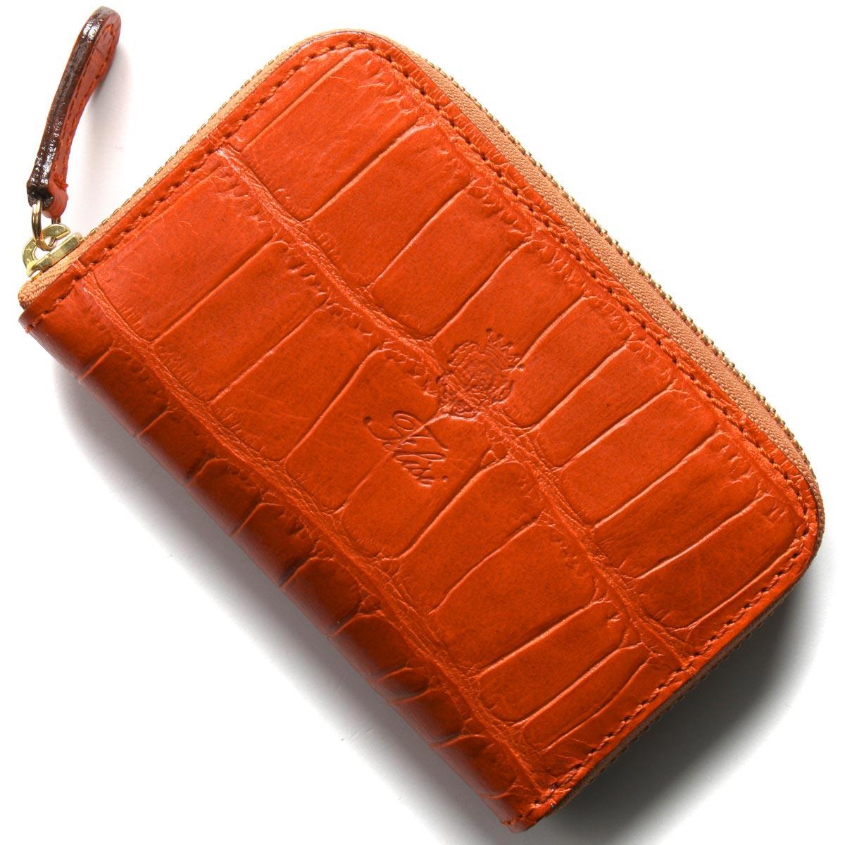フェリージ コインケース【小銭入れ】 財布 メンズ クロコ型押し アランチョオレンジ 905 SA 0009 FELISI