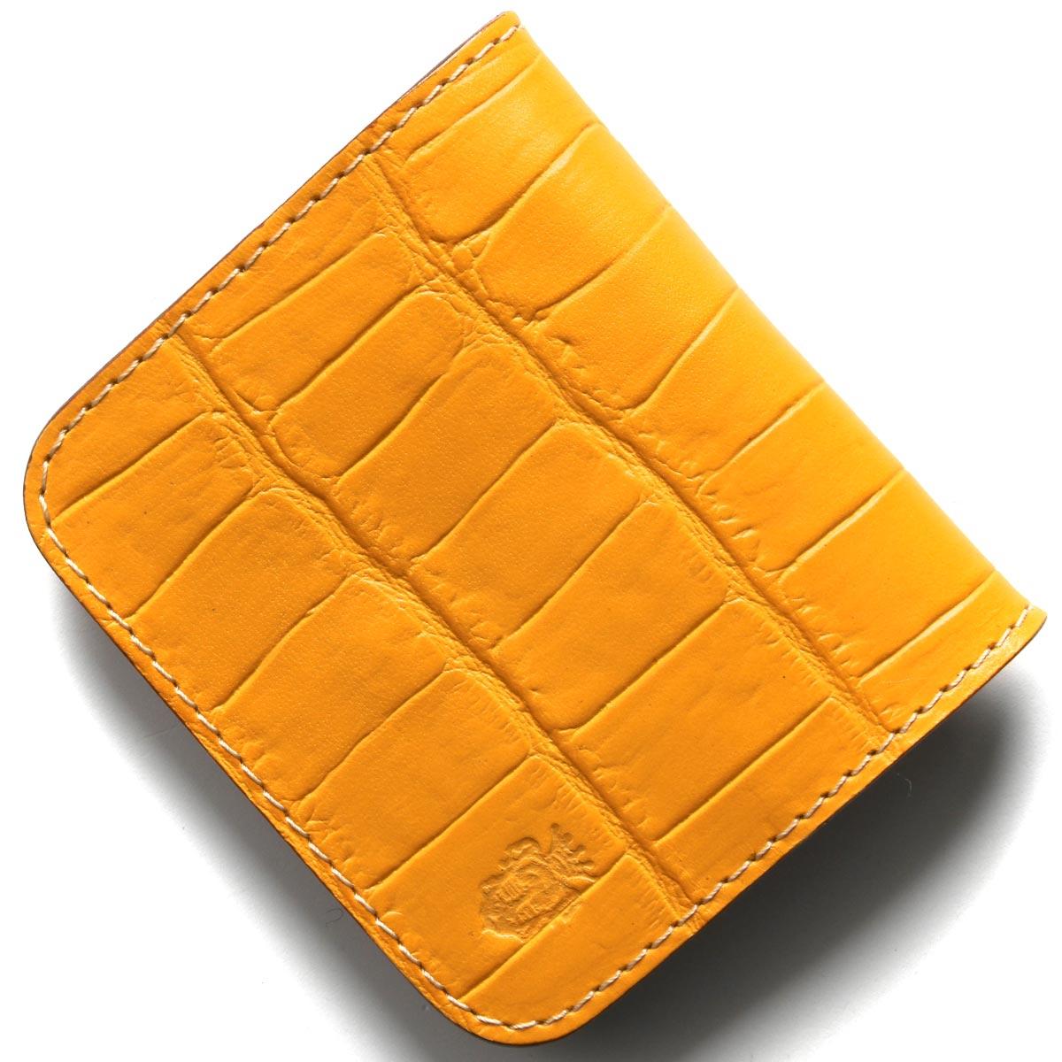 フェリージ コインケース【小銭入れ】 財布 メンズ クロコ型押し マンゴオレンジ 914 SA 0015 FELISI