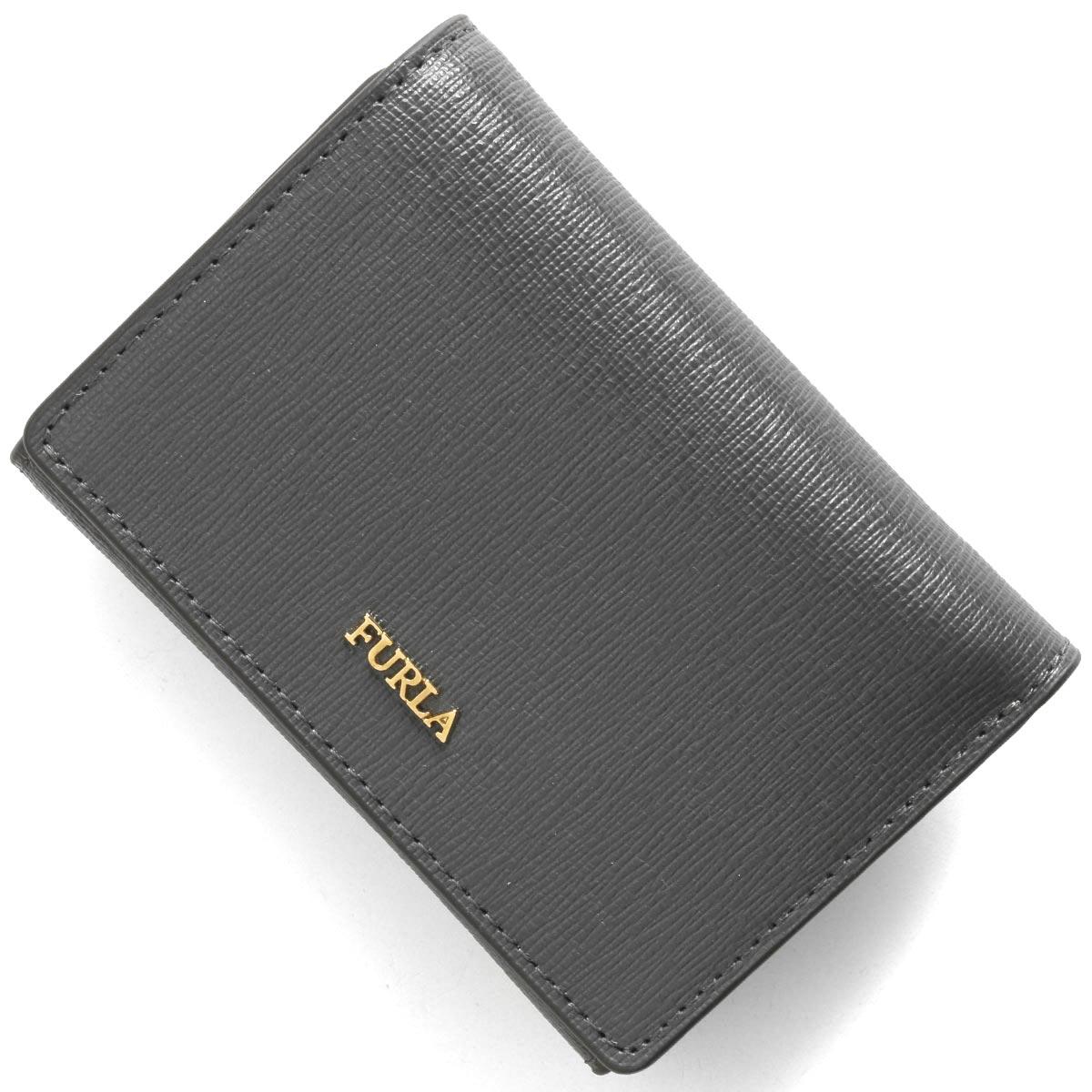 フルラ 三つ折り財布/ミニ財布 財布 レディース バビロン スモール アスファルトグレー PBP2 B30 G1R 1033350 FURLA