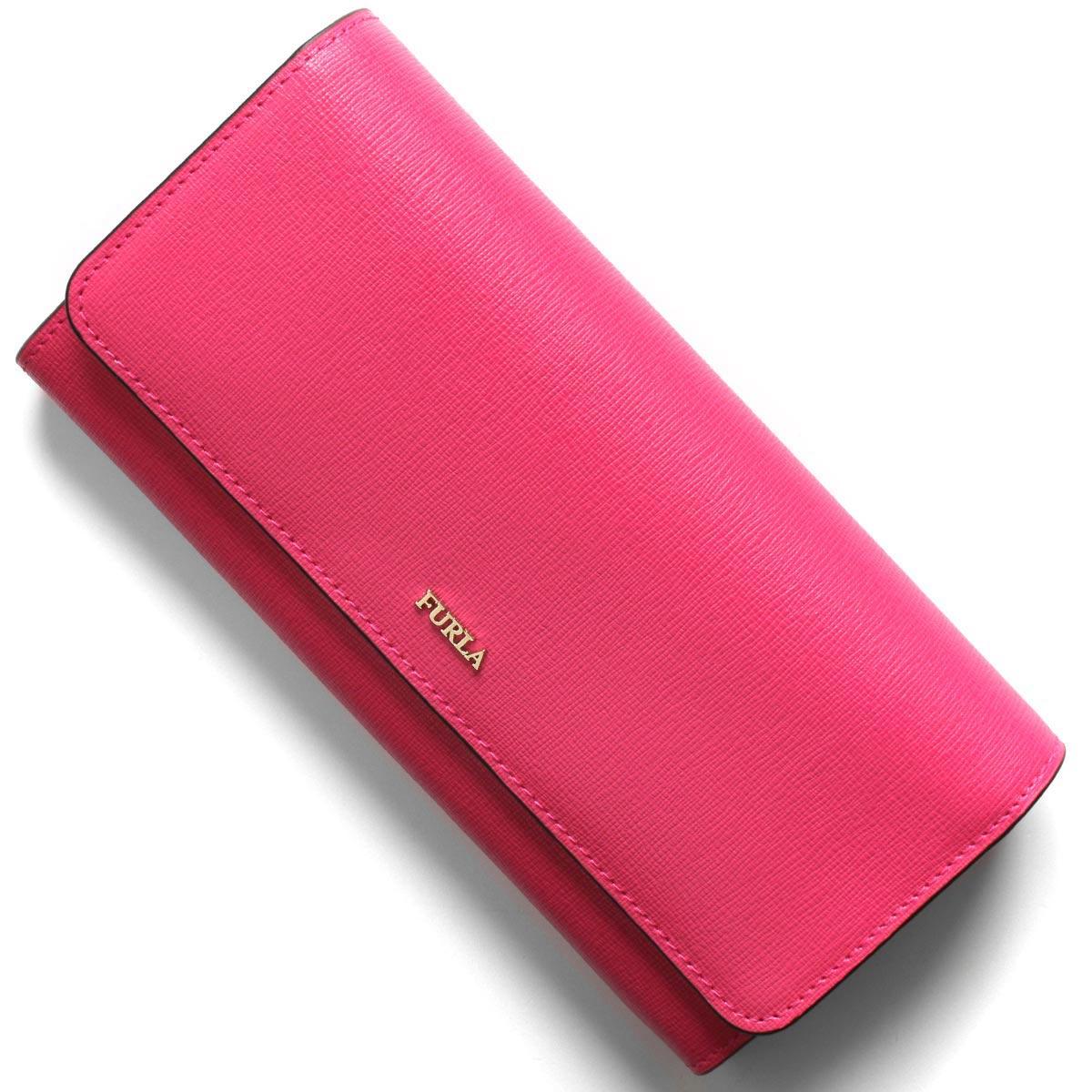 フルラ 長財布 財布 レディース バビロン エクストラ ラージ リップスティックピンク PS12 B30 TJA 1046215 FURLA