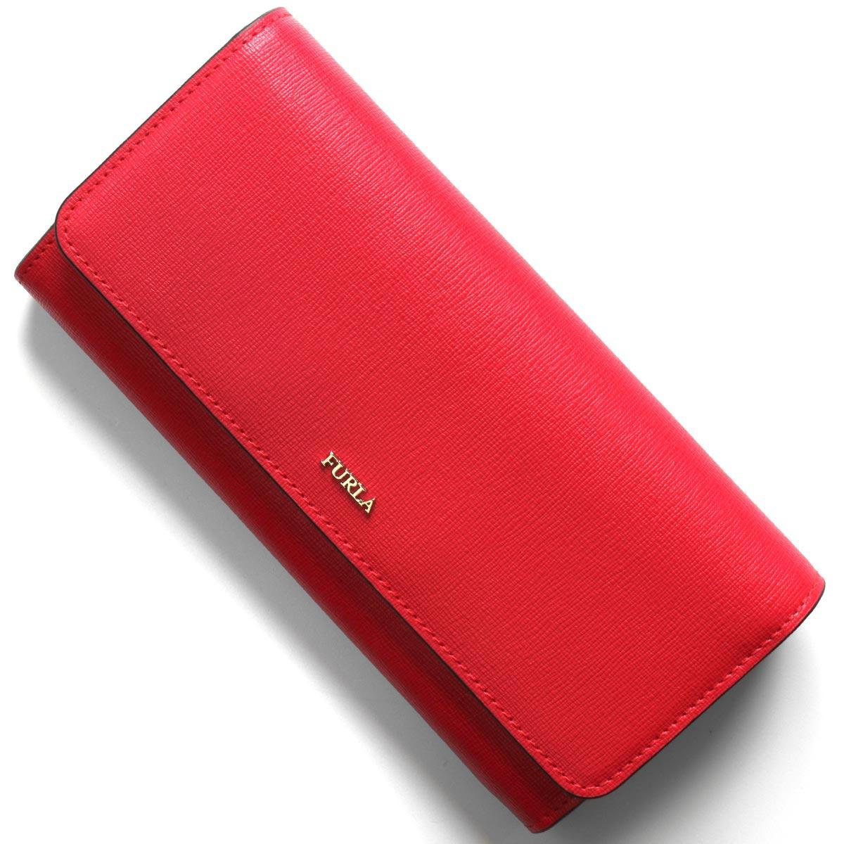 フルラ 長財布 財布 レディース バビロン エクストラ ラージ フラーゴラレッド PS12 B30 TJ9 1046220 FURLA
