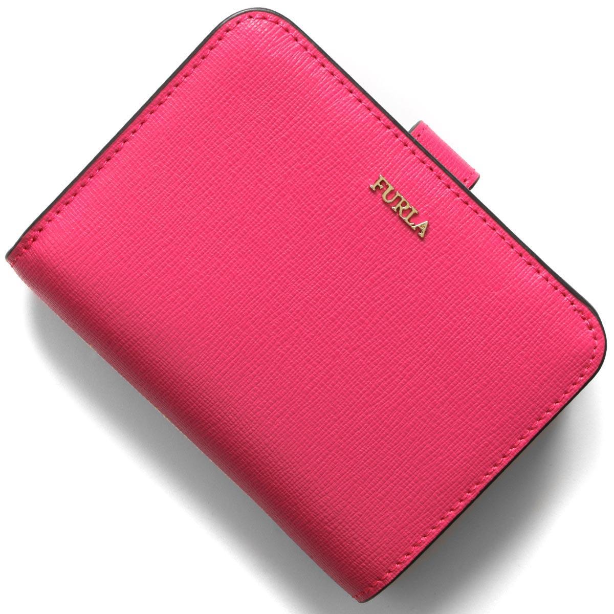 フルラ 二つ折り財布 財布 レディース バビロン スモール リップスティックピンク PBF8 B30 TJA 1046241 FURLA